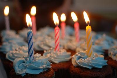 Tackkort födelsedag