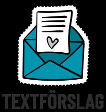 Textförslag